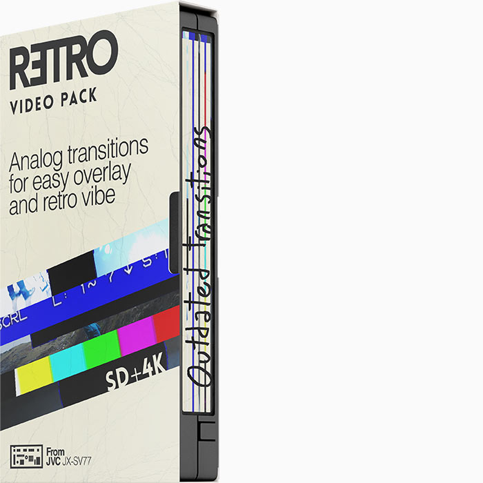 Retro Video Pack Outdated transitions