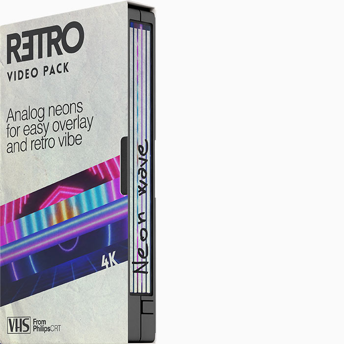 Retro Video Pack Neon wave